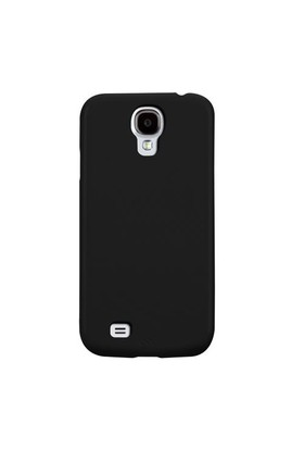 Casemate Samsung Galaxy S4 i9500 Barely There Sert Kılıf + Ekran Koruyucu Film (Siyah)
