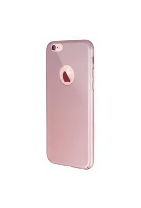 Joyroom Zhi Series iPhone 6 Plus-6S Plus Rose Gold Ultra İnce Rubber Kılıf