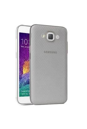 Microsonic Samsung Galaxy Grand Max Kılıf Transparent Soft Siyah