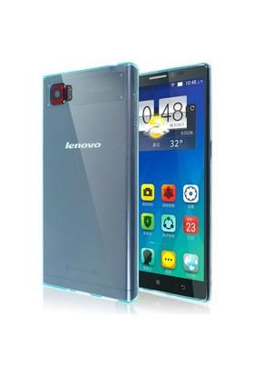 Microsonic Transparent Soft Lenovo Vibe Z2 Pro Kılıf Mavi