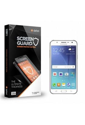 Dafoni Samsung Galaxy J7 2016 Tempered Glass Premium Cam Ekran Koruyucu