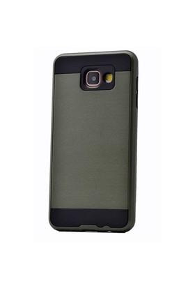 Lopard Samsung Galaxy A7 (2016) Kılıf Zerus Arka Sert Kapak Nefti Yeşil