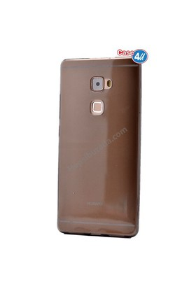 Case 4U Huawei Mate S Ultra İnce Silikon Kılıf Füme
