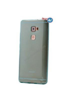 Case 4U Huawei Mate S Ultra İnce Silikon Kılıf Mavi