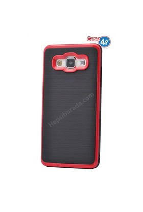 Case 4U Samsung Galaxy On5 Infinity Koruyucu Kapak Kırmızı