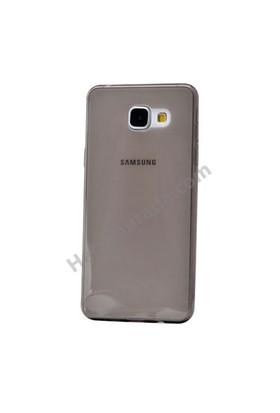 Fonemax Samsung A510 Galaxy A5 (2016) Ultra İnce Silikon Kılıf Füme
