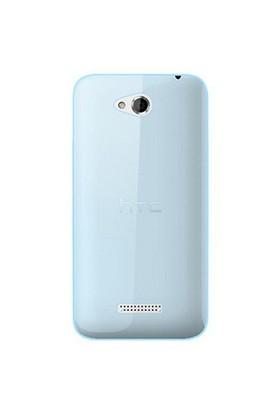 Gpack Htc Desire 616 Kılıf 0.2Mm Mavi Silikon