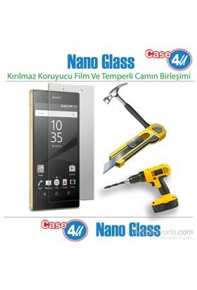 Case 4U Sony Xperia Z5 Nano Glass Ekran Koruyucu