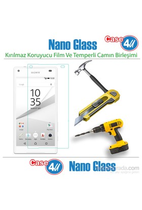 Case 4U Sony Xperia Z5 Compact Nano Glass Ekran Koruyucu