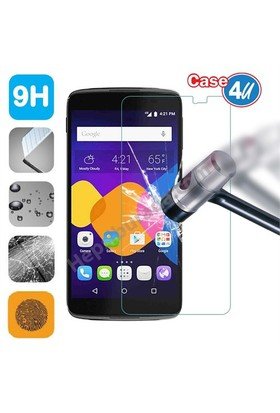 Case 4U Alcatel Idol 3 Cam Ekran Koruyucu