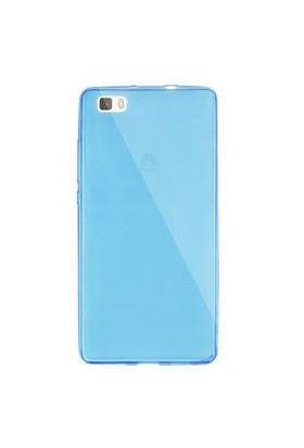 Gpack Huawei P8 Kılıf 0.2Mm Mavi Silikon