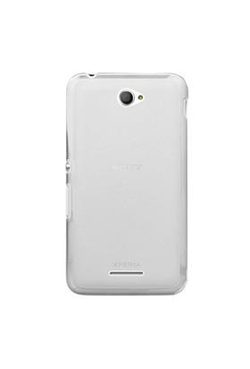 Gpack Sony Xperia E4 Kılıf 0.2Mm Şeffaf Silikon