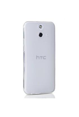 Gpack Htc One E8 Kılıf 0.2Mm Şeffaf Silikon