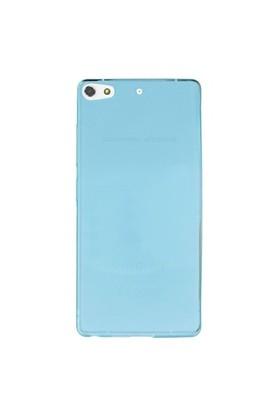 Gpack General Mobile Discovery Elit Plus Kılıf 0.2Mm Mavi Silikon