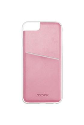 Aprolink Apple iPhone 6 Origami Makaron Kart Cepli Kılıf Pembe - I6DD20PK