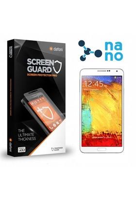 Dafoni Samsung N9000 Galaxy Note 3 Nano Glass Premium Cam Ekran Koruyucu