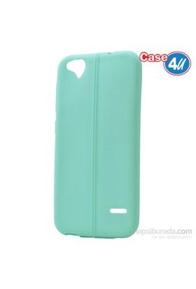 Case 4U Turkcell T60 Desenli Silikon Kılıf Yeşil