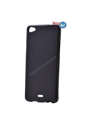 Case 4U Casper Via V10 Ultra İnce Silikon Kılıf Siyah