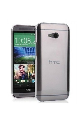 Microsonic Htc One Mini 2 (M8 Mini) Clear Soft Şeffaf Kılıf