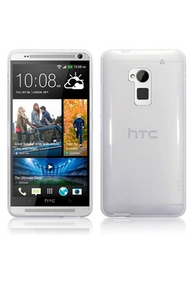 Microsonic Htc One Max Clear Soft Şeffaf Kılıf