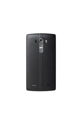 LG G4 Siyah Deri Görünümlü Arka Kapak