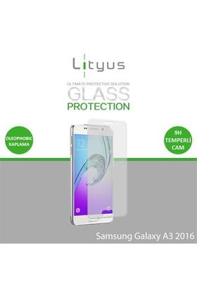 Lityus Samsung A3 2016 Cam Ekran Koruyucu (A310)