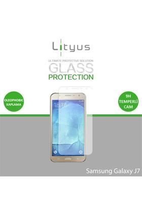 Lityus Samsung J7 Cam Ekran Koruyucu