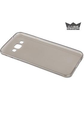 CaseCrown Samsung Galaxy J7 Ultra İnce Silikon Kılıf Füme