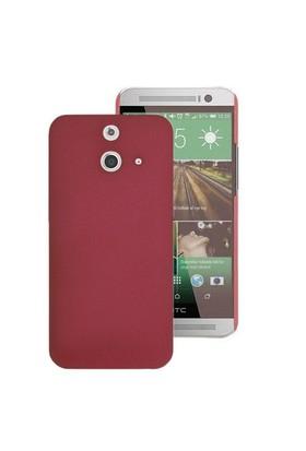 Microsonic Premium Slim Htc One E8 Kılıf Kırmızı