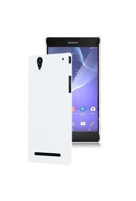 Microsonic Premium Slim Sony Xperia T2 Ultra Kılıf Beyaz