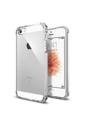 Spigen Apple iPhone Se/5S/5 Kılıf Crystal Shell Clear Crystal
