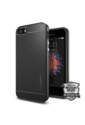 Spigen Apple iPhone Se/5S/5 Kılıf Neo Hybrid Gun Metal
