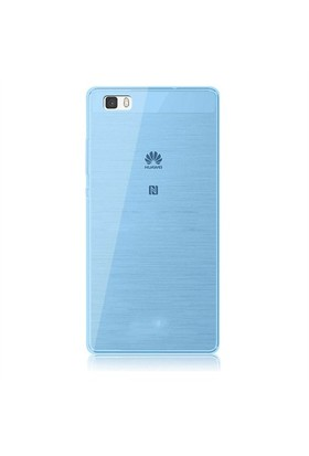 Case 4U Huawei P8 Lite Ultra İnce Silikon Kılıf Mavi