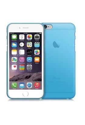Case 4U Apple İphone 6 Ultra İnce Silikon Kılıf Mavi