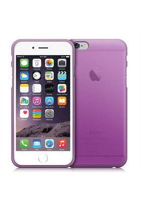 Case 4U Apple İphone 6 Ultra İnce Silikon Kılıf Mor