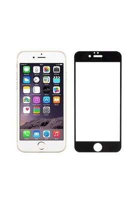 Addison Ip-854 Tempered Glass 0.3Mm Siyah İphone 6S Plus Full Cover Cam Ekran Koruyucu