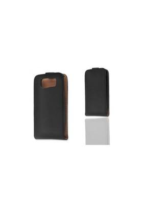 Ally Nokia E63 Siyah Kapaklı Kılıf