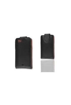 Ally Sony Xperia Miro St23i Siyah Kapaklı Kılıf
