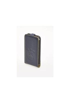 Mbx Apple iPhone 5/5S FB Flip Floter Lacivert Kapaklı Kılıf - 24.MO.FB.KLF.FL.14