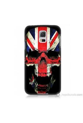 Teknomeg Samsung Galaxy S5 Mini Kapak Kılıf İngiltere Baskılı Silikon