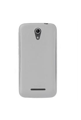 Microsonic Transparent Soft Vodafone Smart 4 Power Kılıf Beyaz