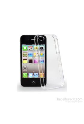 Lopard Apple İphone 4-4S Kılıf 0.2Mm Şeffaf Silikon Arka Kapak