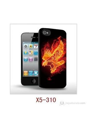 I-Techgear Apple iPhone 5/5s 3D Arka Kapak Yanan Kartal X5-310