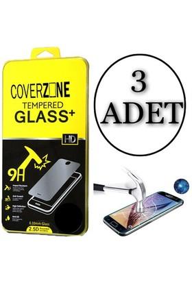 Coverzone Samsung Galaxy A7 Temperli Ekran Koruyucu 3 Adet