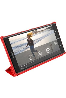Nokia Lumia 1520 Protective Cover CP-623 Kırmızı Kılıf - AKNOCP623RE