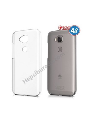 Case 4U Huawei G8 Ultra İnce Silikon Kılıf Şeffaf