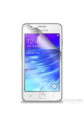 Case 4U Samsung Z1 Ultra Şeffaf Ekran Koruyucu