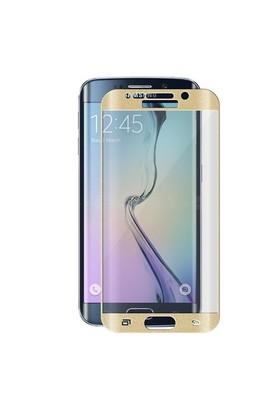 Signor Hobby Samsung Galaxy S6 Edge Plus Ön Arka Full Kavisli Gold