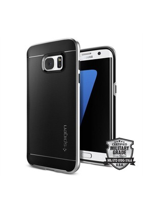 Spigen Samsung Galaxy S7 Edge Kılıf Neo Hybrid - Satin Silver - 556CS20144