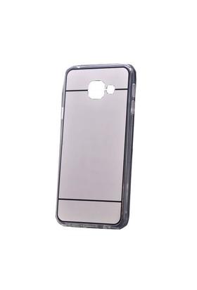 Lopard Samsung Galaxy A3 (2016) Kılıf Aynalı Silikon Arka Kapak Silver